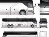 Tour Bus Design Template tour Bus Graphics Template Stock Vector Art