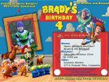 Toy Story Invites Templates Free Free Personalized toy Story Birthday Invitations Template