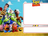 Toy Story Invites Templates Free Free Printable toy Story Birthday Invitation Template