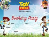 Toy Story Invites Templates Free toy Story Buzz Woody Kids Children Birthday Party