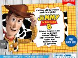 Toy Story Invites Templates Free Woody toys Story Birthday Invitation by Templatemansion On
