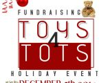 Toys for tots Email Template Fundraiser event Template Postermywall