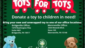 Toys for tots Email Template Gallagher is Official Collection Site for toys for tots