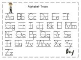 Traceable Alphabet Templates Tracing Letters for Kids Activities Pinterest