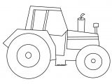 Tractor Template to Print 115 Dessins De Coloriage Tracteur A Imprimer