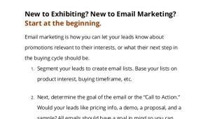 Trade Show Follow Up Email Template the 2013 Exhibitor 39 S Guide to Email Follow Up with Four