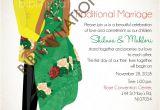 Traditional Zulu Wedding Invitation Card Rhandzu Tsonga south African Traditional Wedding Invitation