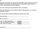 Trailer Rental Contract Template Download Vehicle Lease Agreement for Free formtemplate