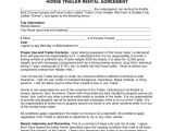 Trailer Rental Contract Template Trailer Rental Agreement 6 Free Templates In Pdf Word