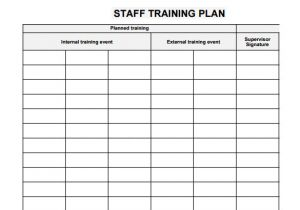 Training Calendars Templates 20 Sample Training Plan Templates to Free Download