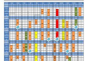 Training Calendars Templates Training Calendar Template 25 Free Word Pdf Psd