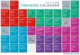 Training Calendars Templates Training Schedule Template Template Business