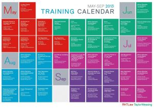 Training Calendars Templates Training Schedule Template Template Business