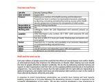 Training Officer Job Description Template 12 Security Officer Job Description Templates Free
