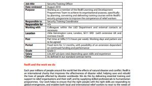 Training Officer Job Description Template 12 Security Officer Job Description Templates Free