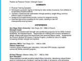 Training Officer Job Description Template Writing Your athletic Training Resume Carefully