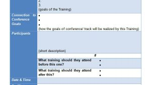 Training Package Template 20 Sample Training Plan Templates to Free Download