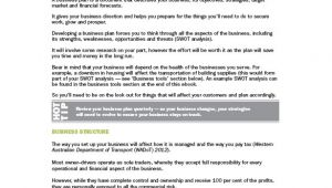 Transportation Business Plan Template Trucking Plan Business Template 10 Free Word Excel