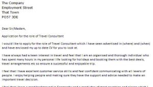 Travel Consultant Cover Letter No Experience Travel Consultant Cover Letter Example Icover org Uk
