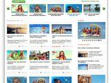 Travel Portal Templates Shablon Travel Portal Dlya Turisticheskih Sajtov Test