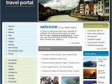Travel Portal Templates Travel Guide Website Template 14455