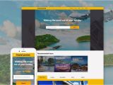 Travel Portal Templates Travel Portal HTML5 Bootstrap theme 57801 Zign Templates