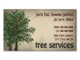 Tree Service Business Cards Templates Tree Trimming Care Services Business Card