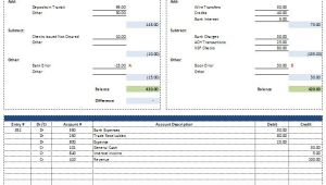 Trust Account Reconciliation Template Free Excel Bank Reconciliation Template Download