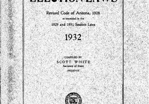 Ttd Marriage Card Sending Address Election Laws 1932 Arizona State Government Publications