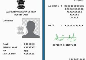 Ttd Marriage Card Sending Address How to Change Address In Voter Id Card India News Times