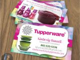 Tupperware Business Cards Template Tupperware Business Cards Style 4 Kz Creative Services
