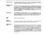Turnkey Contract Template Guadalajara Certificate Of Commencement and Layout