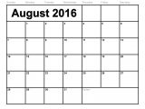 Type On Calendar Template Blank Calendar Template 2016 that You Can Type In