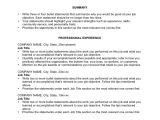 Types Of Basic Resume 6 Basic Chronological Resume Templates Professional