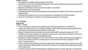 Uat Tester Resume Sample Uat Tester Resume Samples Velvet Jobs