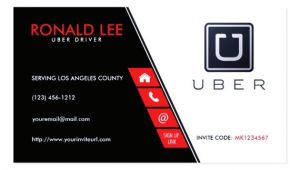 Uber Business Card Template Download Free Uber Business Card Template Emetonlineblog