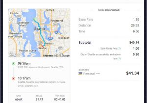 Uber Receipt Template Example Of An Automatically Emailed Uber Receipt It Shows
