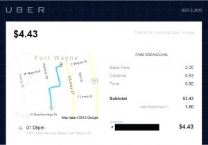 Uber Receipt Template Uber Receipt Does Give Receipts This Was the Receipt Email