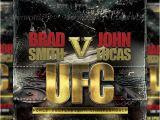 Ufc Poster Template Kickboxing Poster Psd Dondrup Com