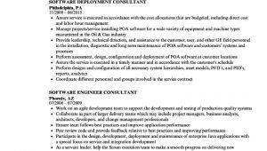 Uft Sample Resume Consultant software Resume Samples Velvet Jobs