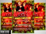 Ugly Sweater Party Flyer Template Ugly Christmas Sweater Party Flyer Flyer Templates