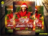 Ugly Sweater Party Flyer Template Ugly Christmas Sweater Party Flyer Template Psd by