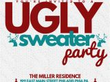 Ugly Sweater Party Flyer Template Ugly Sweater Template Postermywall