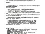 Ui Developer Sample Resume Sample Web Developer Resume 7 Free Documents Download