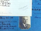 Uk Border Agency Application Registration Card Welcome to Britain Historic Police Alien Registration Cards