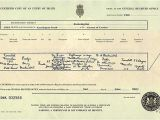 Uk Death Certificate Template Death Certificate Uk Certificates Templates Free