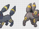 Umbreon Pixel Art Template Umbreon by Hama Girl On Deviantart