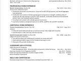 Undergraduate Engineering Resume 10 Engineering Student Resume Template Penn Working Papers