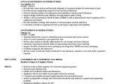 Undergraduate Engineering Resume Engineering Summer Intern Resume Samples Velvet Jobs