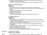 Underground Mining Engineer Resume Sample Equipment Operator Resume Samples Velvet Jobs